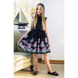 Black/Pink Confirmation/Special Occasion Dress Style 25/J/18