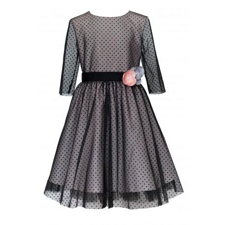 Black/Pink Confirmation/Special Occasion Dress Style 21A/J/18