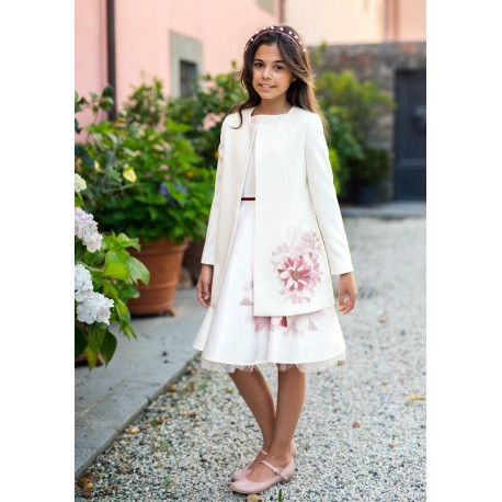 Ivory Confirmation/Special Occasion Coat Style 44/SM/19