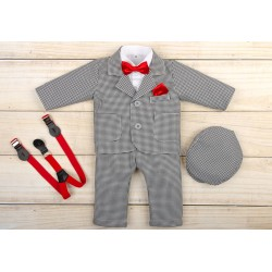 Christening Checkered Suit George