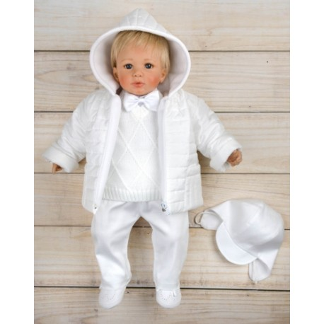 Christening Outfit &Jacket Camil