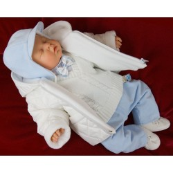 7 Pcs Christening Suit&Jacket Vito
