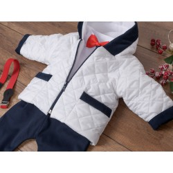 7 Pcs Christening Suit&Jacket Thymon