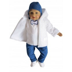 6 Pcs Christening Suit&Jacket Joseph