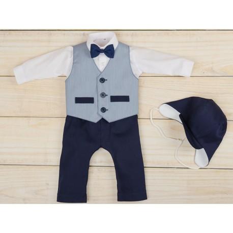 5 Pcs Christening Suit& Waistcoat Maurycy Bis