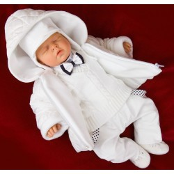 7 Pcs Christening Suit&Jacket Vito Bis