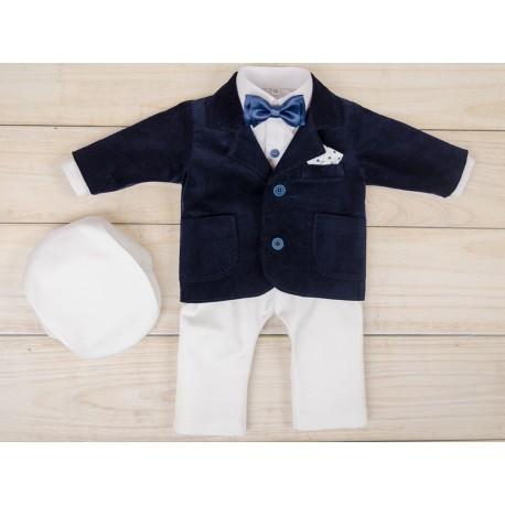 5 Pcs Christening Suit& Jacket Valery