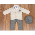 5 Pcs Christening Suit& Jacket Gregory Bis