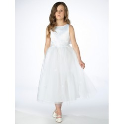 White Flower Girl/Special Occasion Dress by Sevva Style KAYE