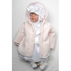 Baby Girl Christening Dress Kelli Pink