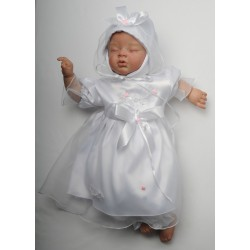 Baby Girl Christening Dress Kelli Pink II