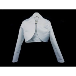 White First Holy Communion Bolero Style CB11
