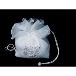 White First Holy Communion Handbag Style 5396