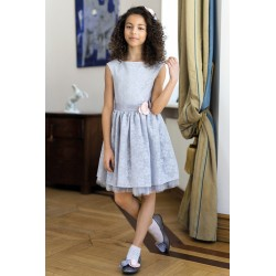 Light Grey Confirmation/Special Occasion Dress Style 9/J/18