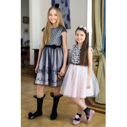 Pink/Black Confirmation/Special Occasion Dress Style 20/J/18