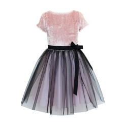 Pink/Black Confirmation/Special Occasion Dress Style 17/J/18