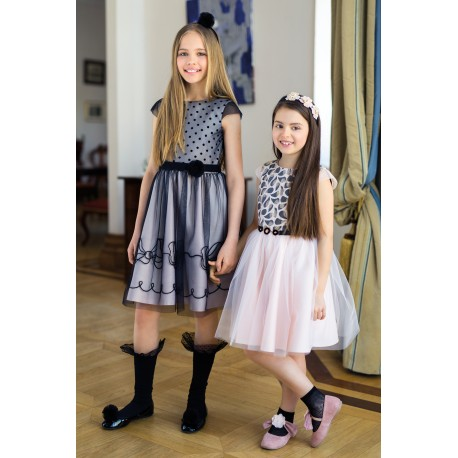 Pink/Black Confirmation/Special Occasion Dress Style 19/J/18