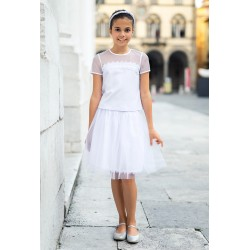White Confirmation/Special Occasion Skirt Style 37A/SM/19