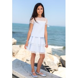 Blue Confirmation/Special Occasion Skirt Style 38D/SM/19