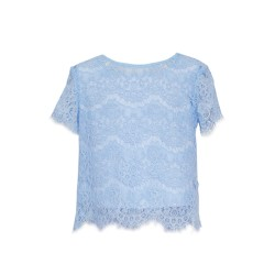 Blue Confirmation/Special Occasion Blouse Style 36C/SM/19