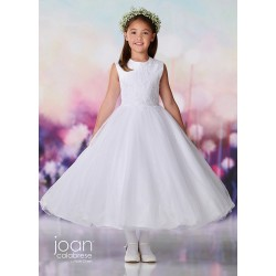 Joan Calabrese White First Holy Communion Dress Style 119378