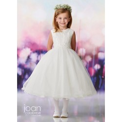 Joan Calabrese Ivory First Holy Communion Dress Style 119378