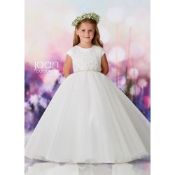 Joan Calabrese Ivory First Holy Communion Dress Style 119381