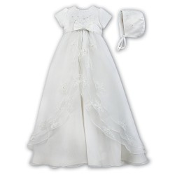 Sarah Louise Ivory Christening Gown Style 001068S