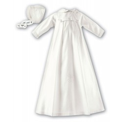 Sarah Louise Ivory Baby Boy Christening Gown Style 001177JL