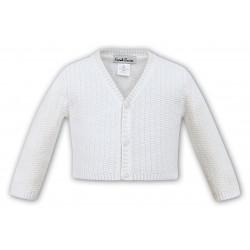 Sarah Louise Ivory Baby Boy Christening Cardigan Style 006791