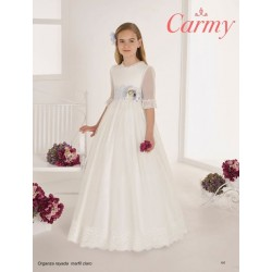 Handmade Ivory First Holy Communion Dress Style 105