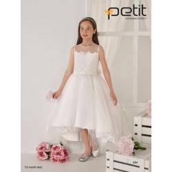 Handmade Elegant Ivory First Holy Communion Dress Style 854