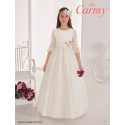 Handmade Ivory Elegant First Holy Communion Dress Style 101