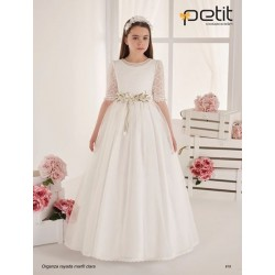 Ivory Handmade First Holy Communion Dress Style 818