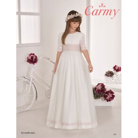 Ivory Handmade First Holy Communion Dress Style 622