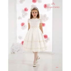 Ivory Handmade Ballerina Length First Holy Communion Dress Style 9705