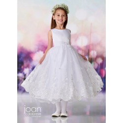 Joan Calabrese White First Holy Communion Dress Style 119389