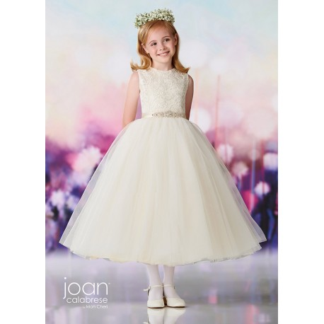 Joan Calabrese Ivory First Holy Communion Dress Style 119390