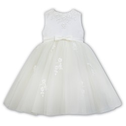 Sarah Louise Ivory Baby Girl Christening Dress Style 070073