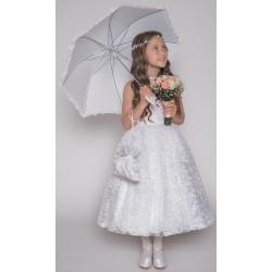 Handmade First Holy Communion Ballerina Length Dress Style JEANETTE
