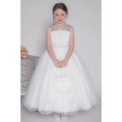 Celebrations First Holy Communion Dress Style LARCH