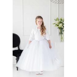 Handmade White First Holy Communion Dress Style T-902