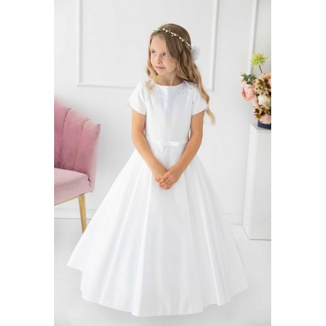 Simple Elegant Handmade First Holy Communion Dress Style JOANA