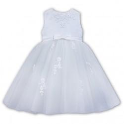 SARAH LOUISE WHITE BABY GIRL CHRISTENING DRESS STYLE 070073