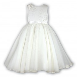 Sarah Louise Ivory Baby Girl Christening Dress Style 070019