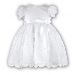 Sarah Louise White Baby Girl Christening Dress Style 070008