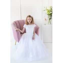 White First Holy Communion Dress Style RAISA