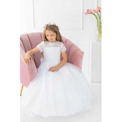 Stunning Handmade First Holy Communion Dress Style CARLA