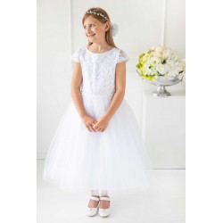 Handmade First Holy Communion Dress Style VICTORIA