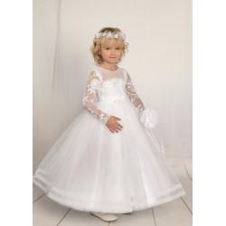 Handmade First Holy Communion Dress Style F01